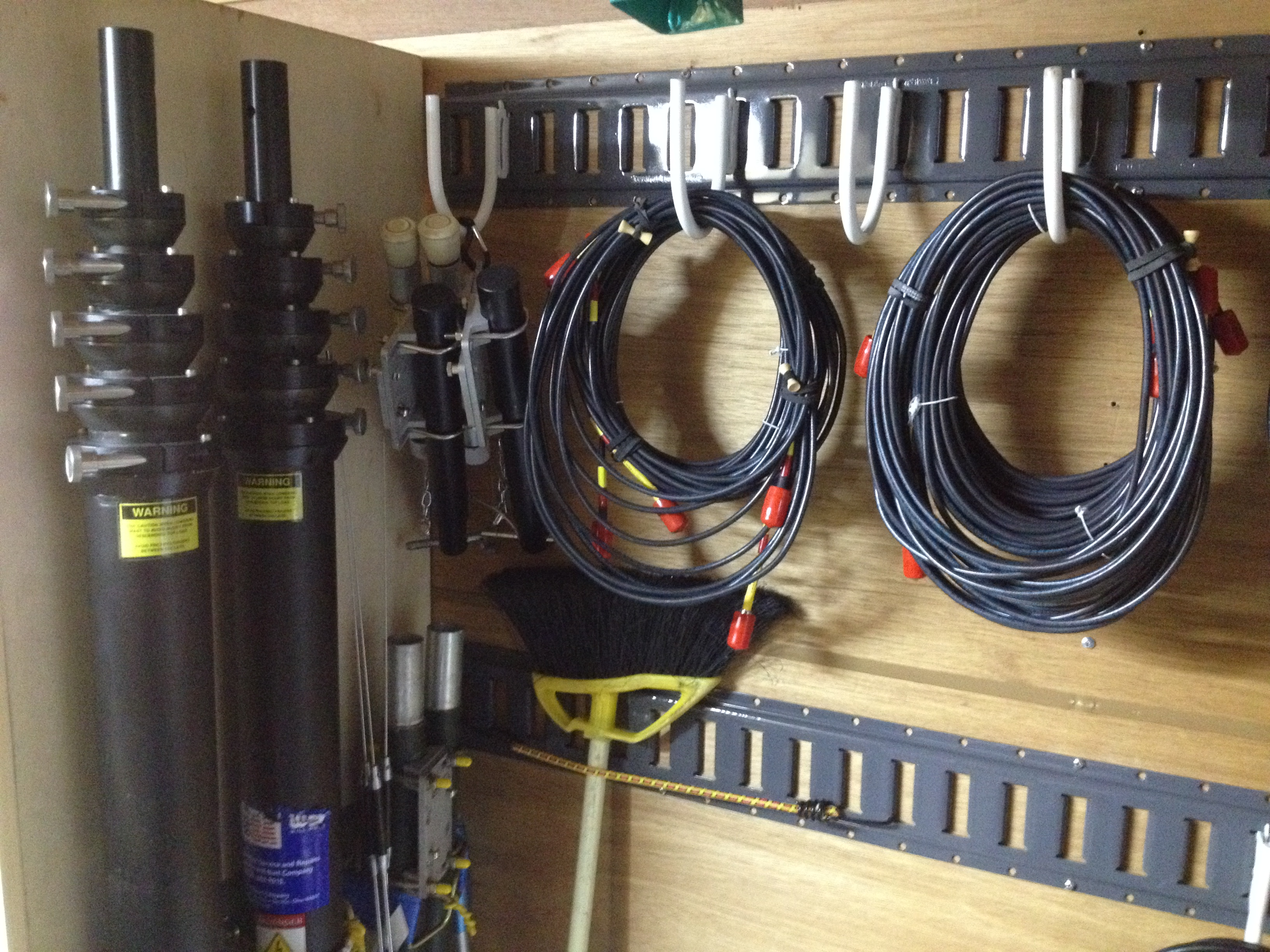Antenna and Coax Storage